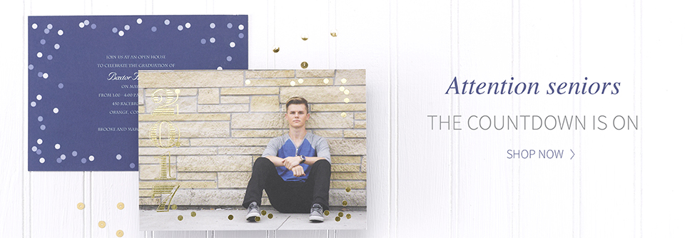 Home Grad Invitations Hero